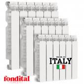 РАДИАТОР БИМЕТАЛЛ FONDITAL  ALUSTAL  500/100 Италия