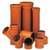 Канализация наружная трубы и соединения диаметр 110 160